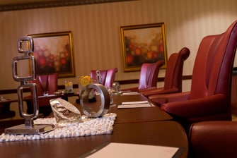 Take charge at your next meeting with a chic and impressive executive boardroom.