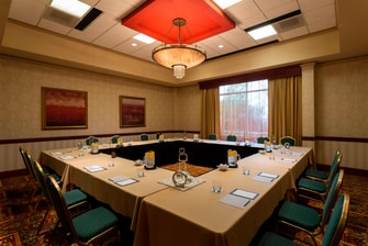 Gather around a special meeting space for professional gatherings and strategy sessions in the Michelangelo Room.