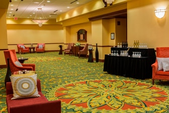 Gather your guests to lounge and socialize in an elegant pre-function space.