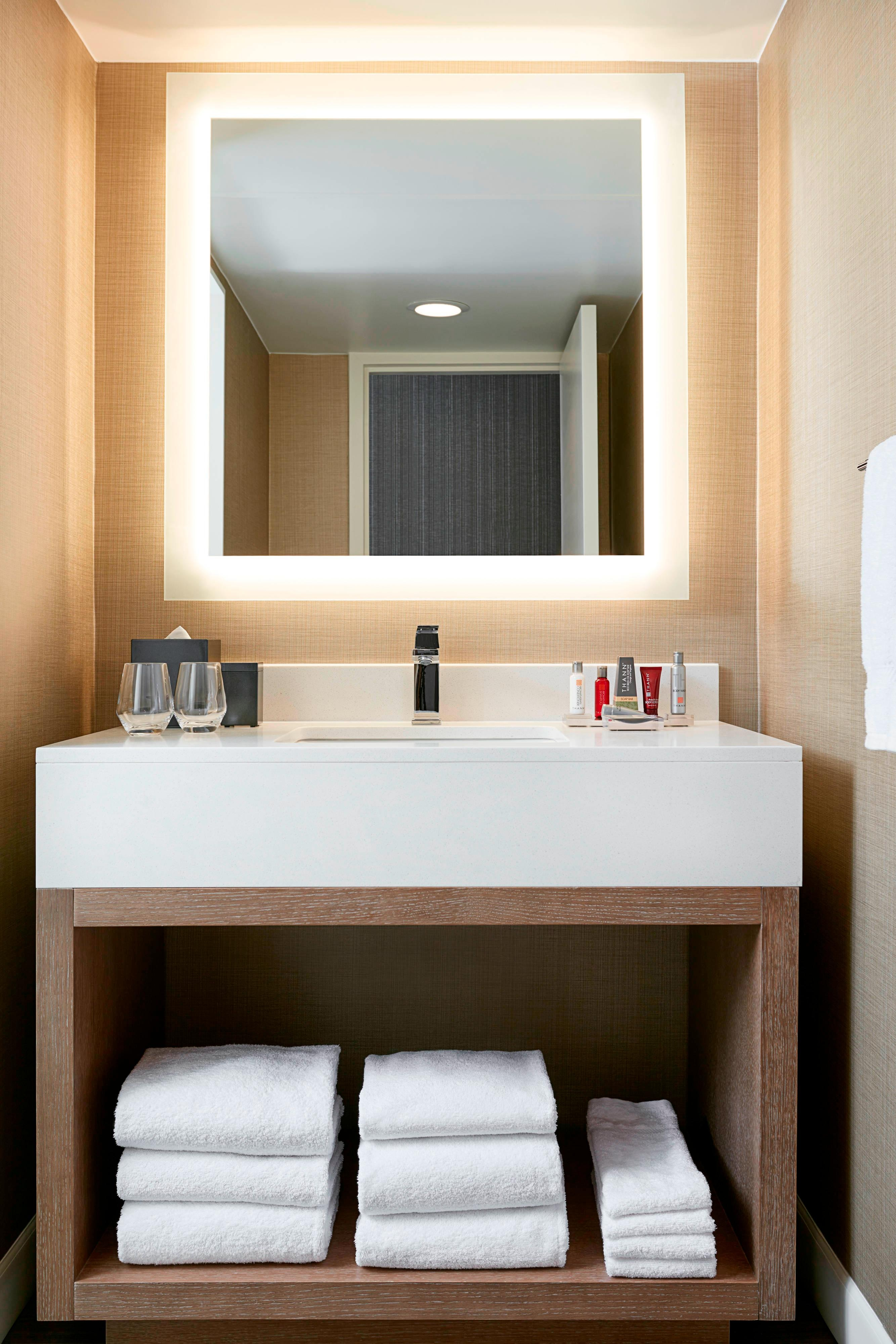 guest bath in charlotte city center