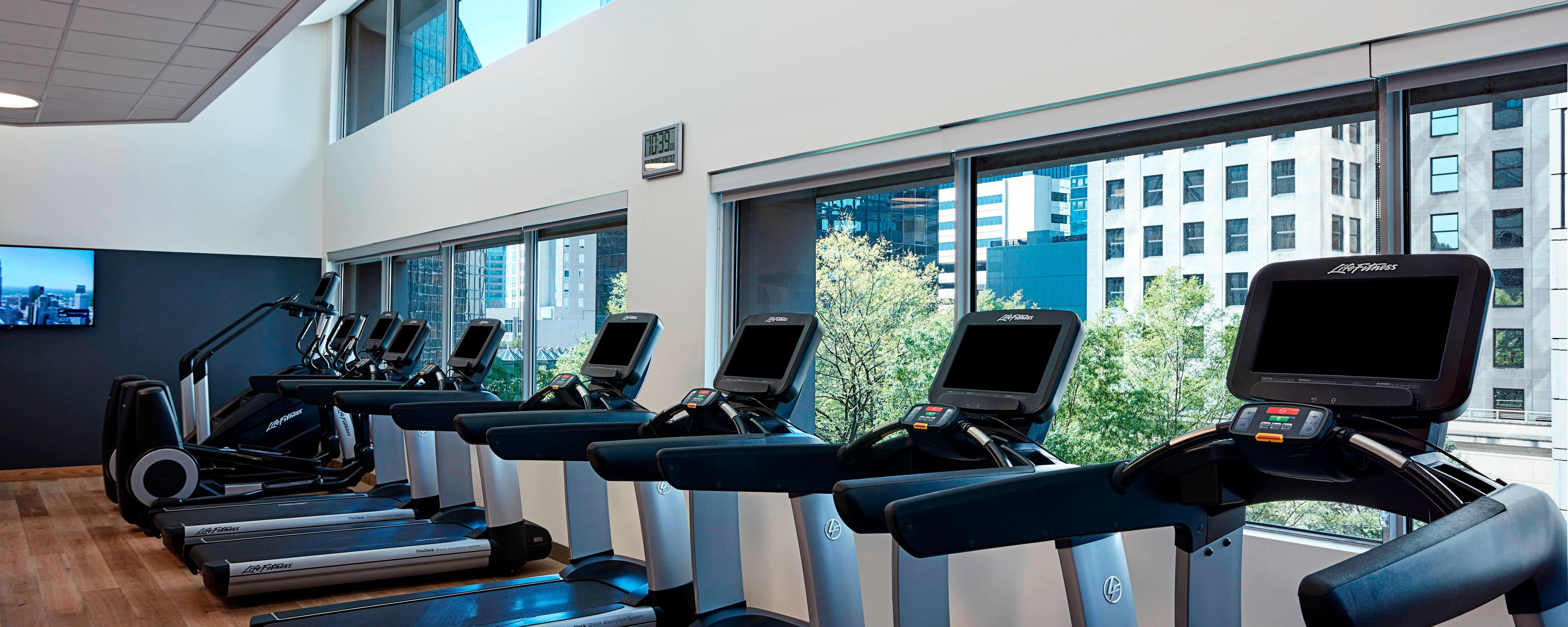 Charlotte hotel with gym charlotte marriott city center