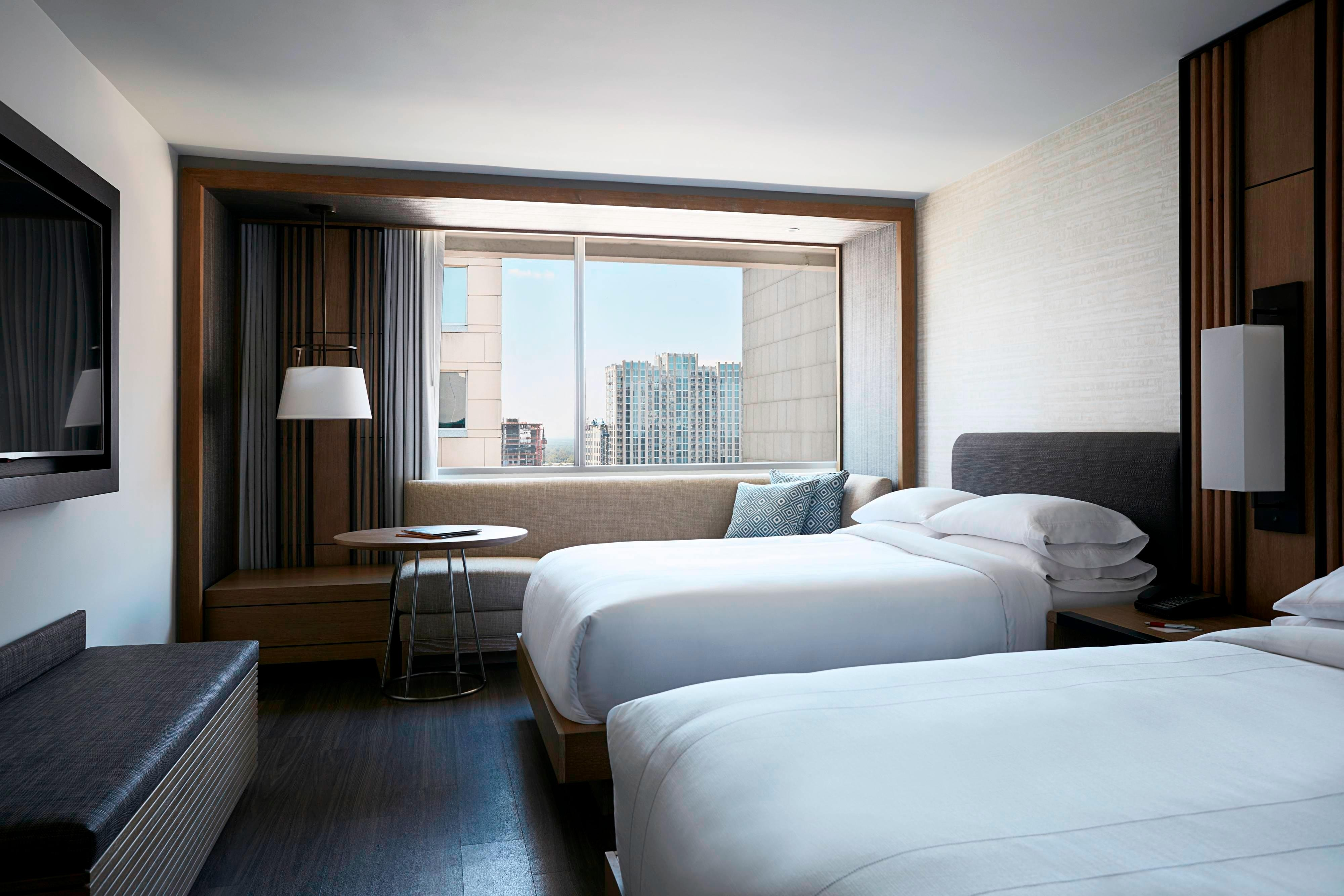 uptown Charlotte NC guest rooms