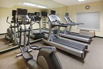 South Charlotte Hotel Gym