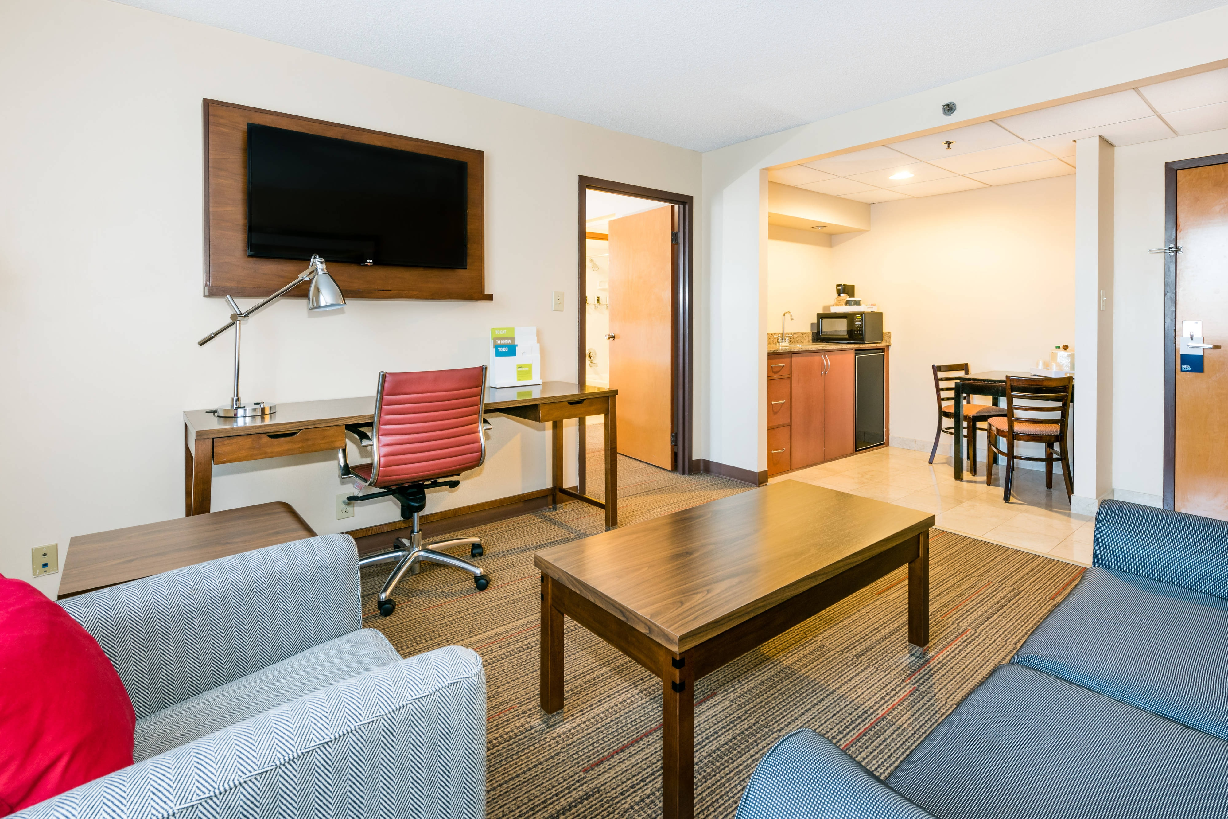 Suite - Kitchenette and Parlor