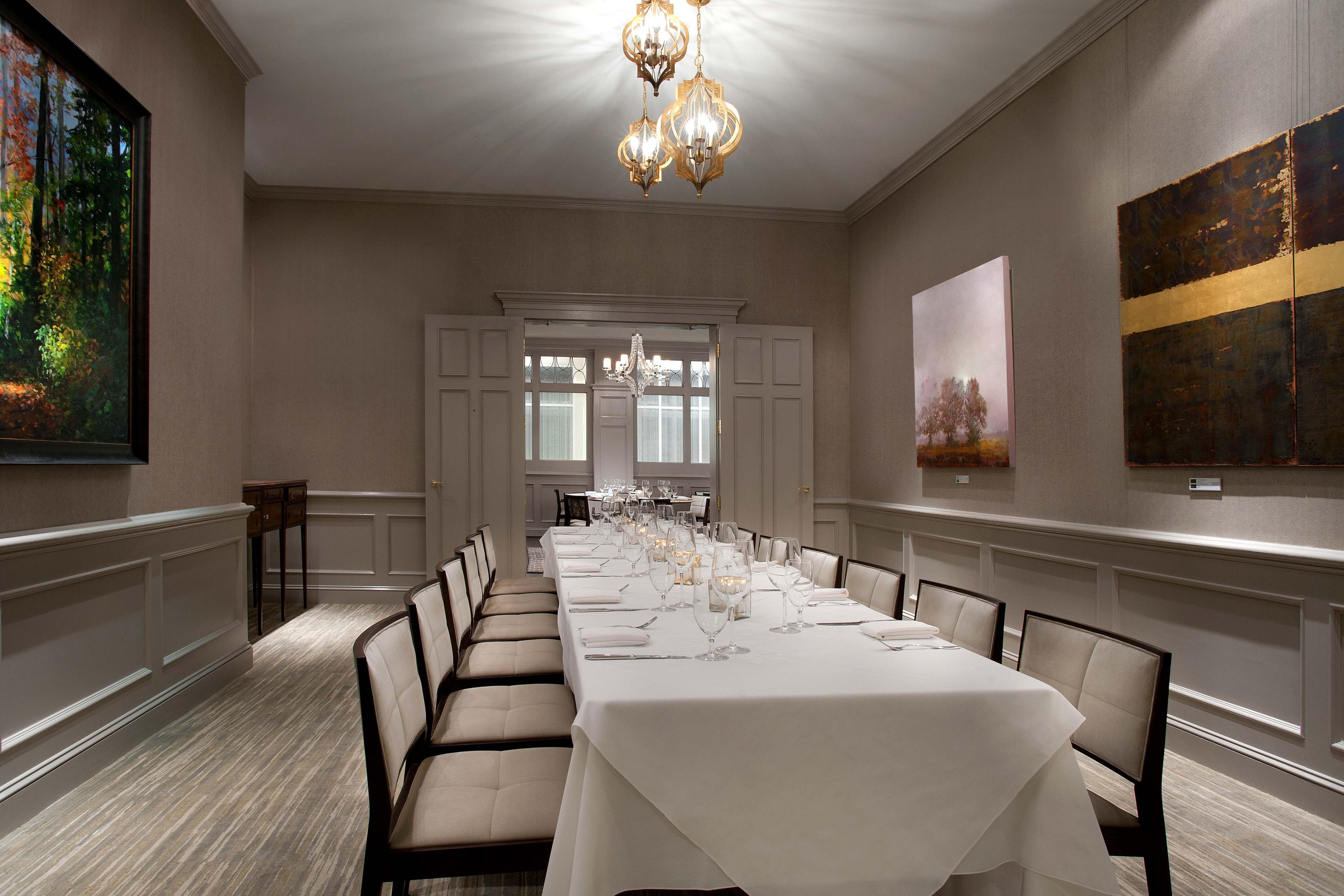 Private Dining Large Table Set