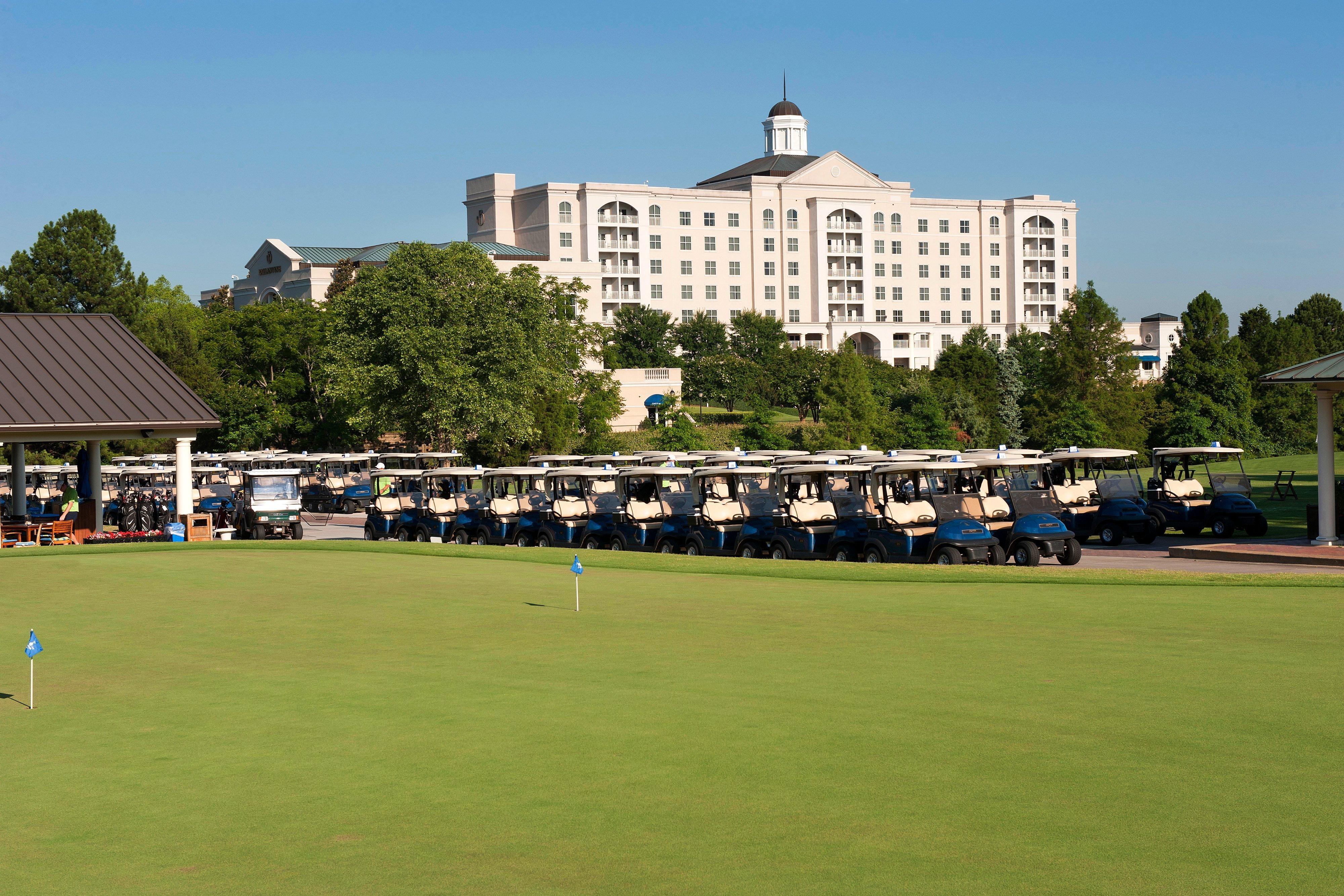 The Ballantyne Golf Practice Area