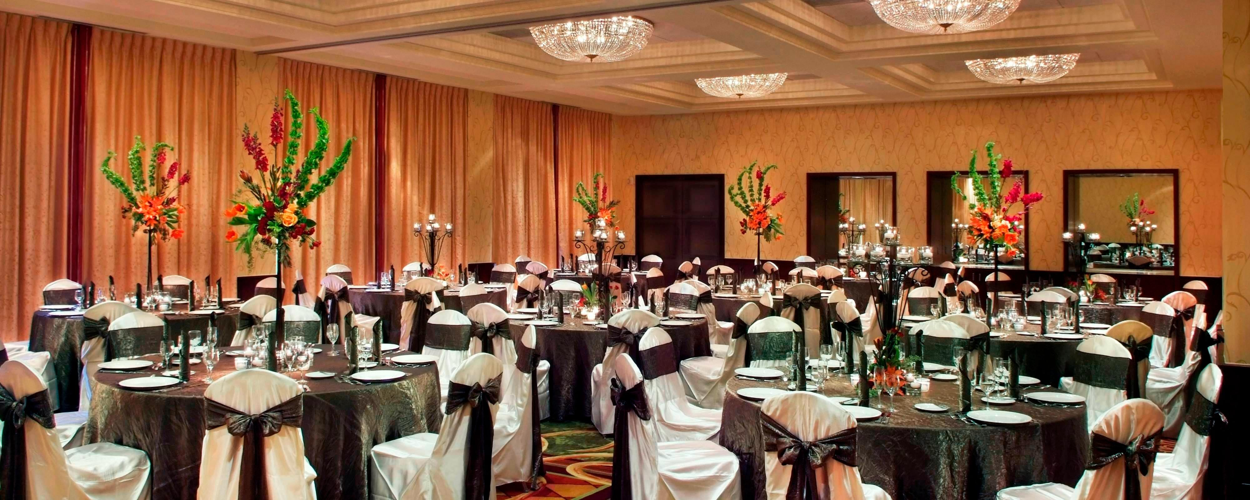 Banquet Halls And Wedding Venues In Charlotte Nc Marriott Southpark