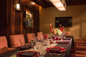 Charlotte restaurant private dining room
