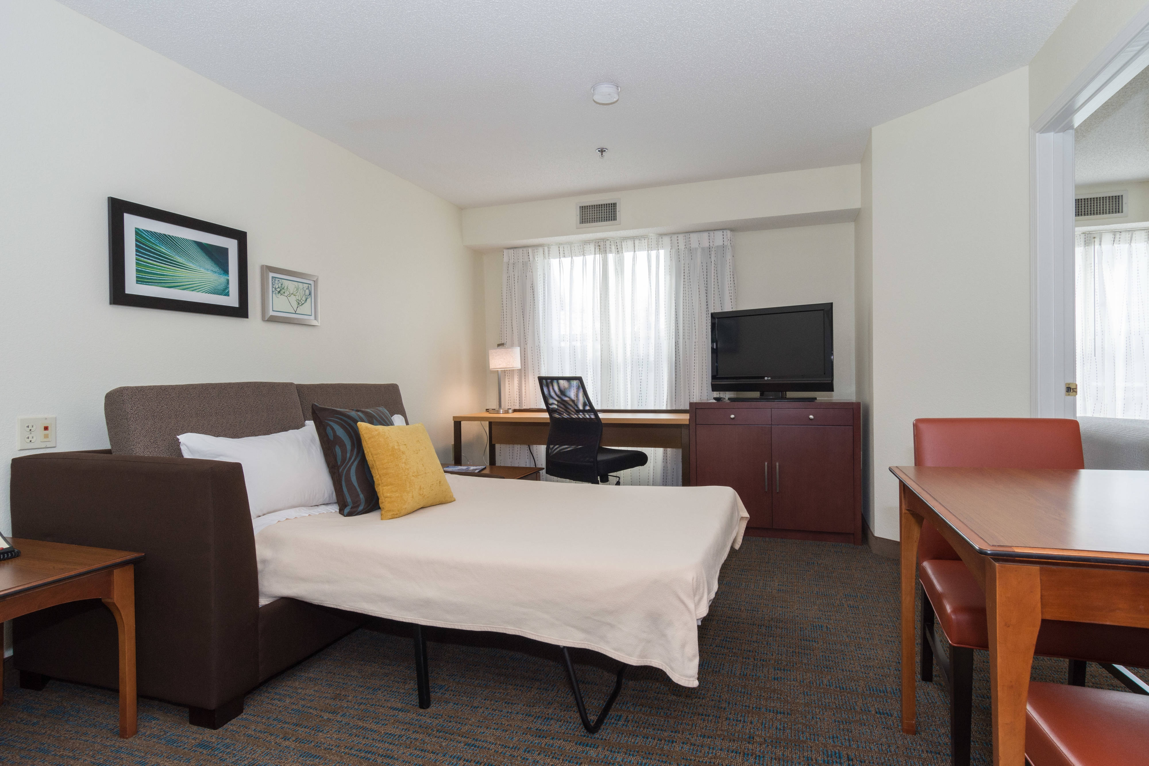 Extended Stay Hotel Lodging In Huntersville Nc Queen Studio Suite