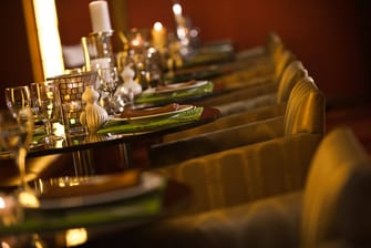 Private dining in Charlotte hotel