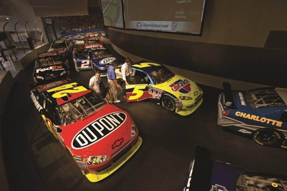 NASCAR Hall of Fame Race Simulator