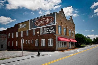 Original Cheerwine Building