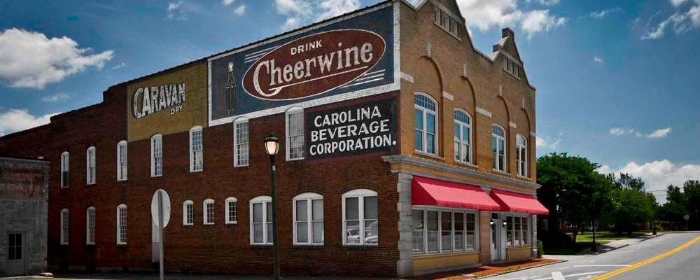 L'authentique Cheerwine Building