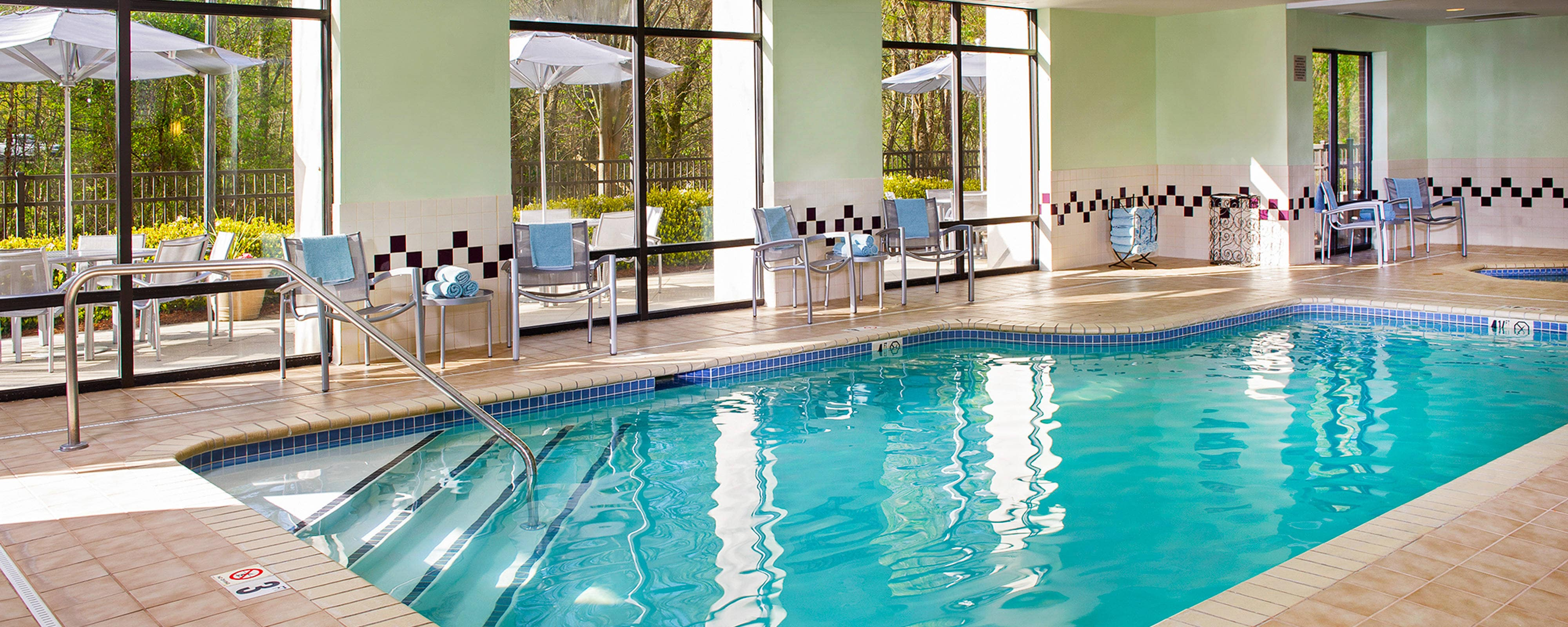 Hotels With Indoor Pools In Charlotte Nc Springhill Suites Charlotte