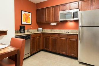 One-Bedroom Suite Kitchen