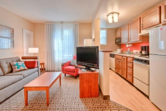 Cary North Carolina Two-Bedroom Suite