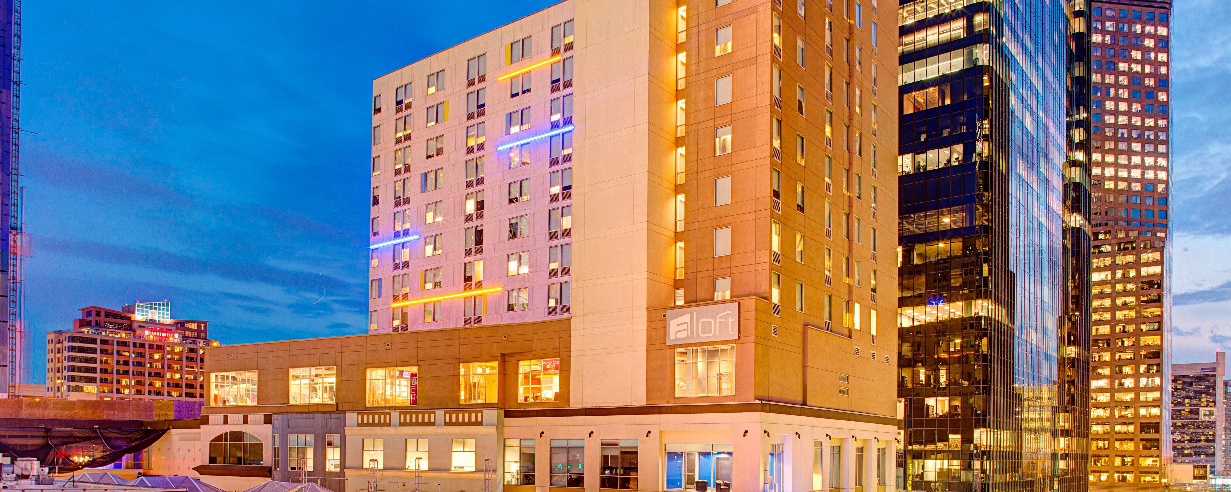 Aloft Hotels is a member of the Starwood Hotels & Resorts family and offers stylish, boutique hotels and affordable prices. Aloft Hotels are influenced by the urban culture with open spaces and built in technology. During reservation enter Aloft Hotels promotion codes to save on your stay.