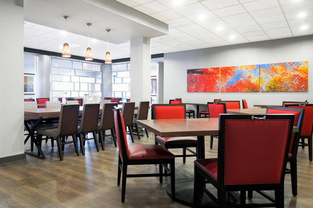 Fairfield Inn and Suites Charlotte Uptown hotel with onsite dining