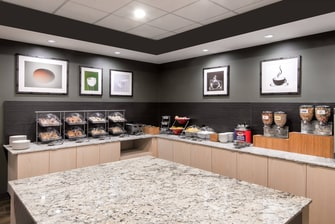 Fairfield Inn Charlotte Uptown hotel offering complimentary breakfast