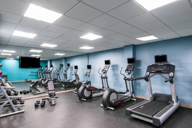 charlotte hotel fitness center