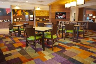 Fairfield Inn Columbus Airport Breakfast Area