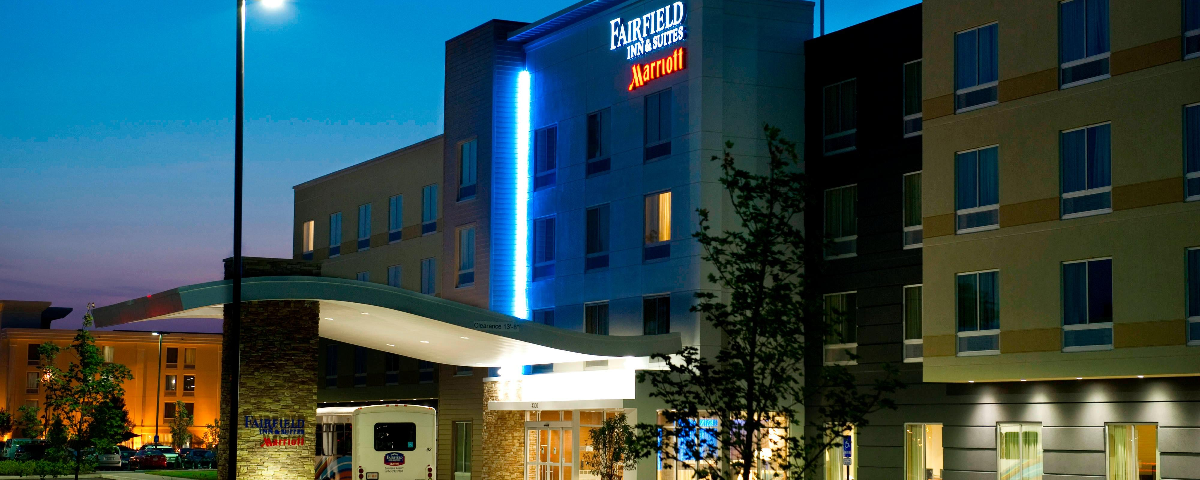 Airport Hotel In Columbus Ohio Fairfield Inn