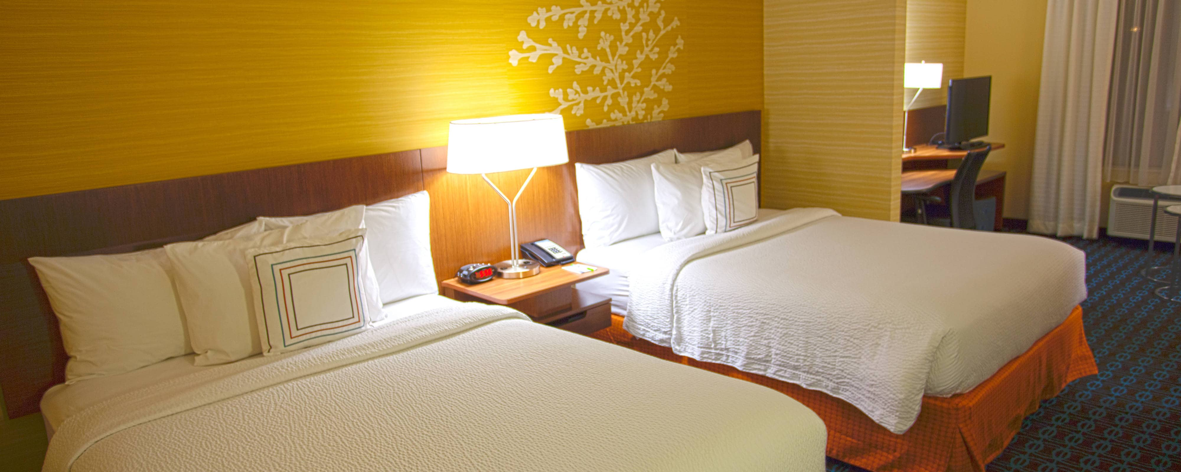 Studio Suite mit Queensize-Bett im Fairfield Inn Columbus Airport