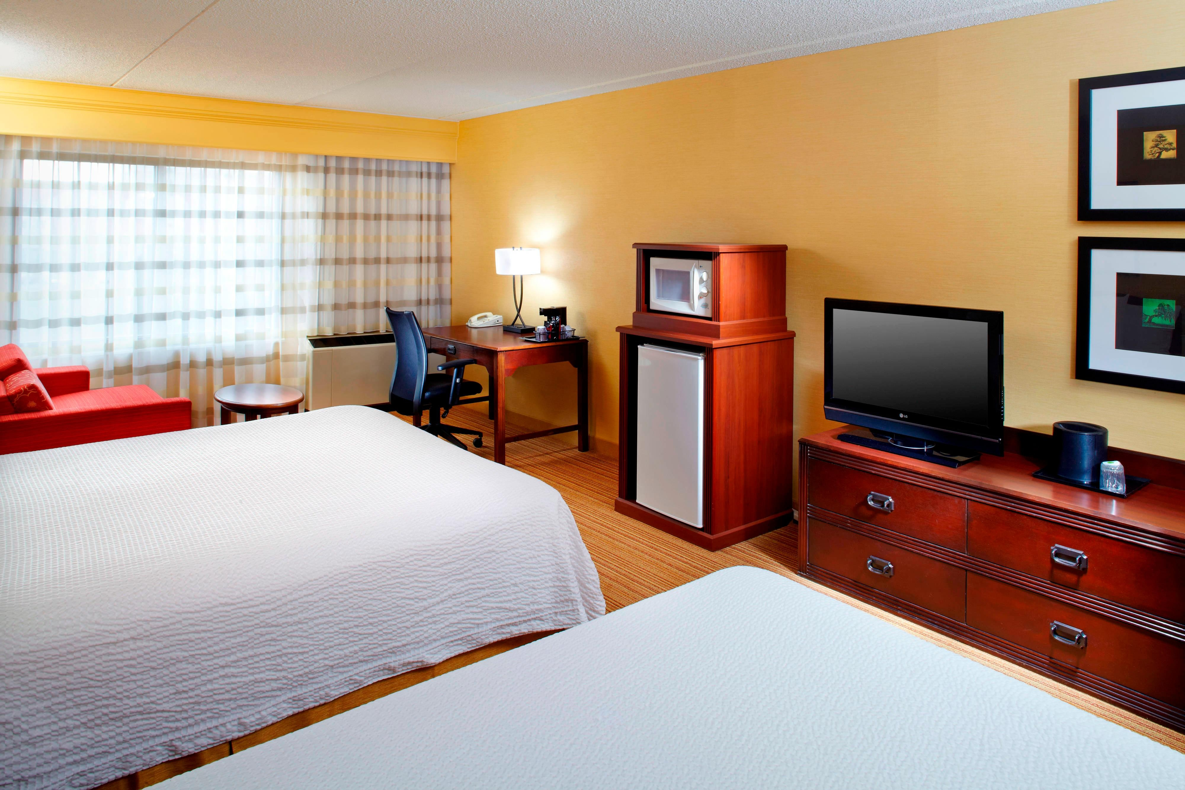 Executive Double/Double Guest Room