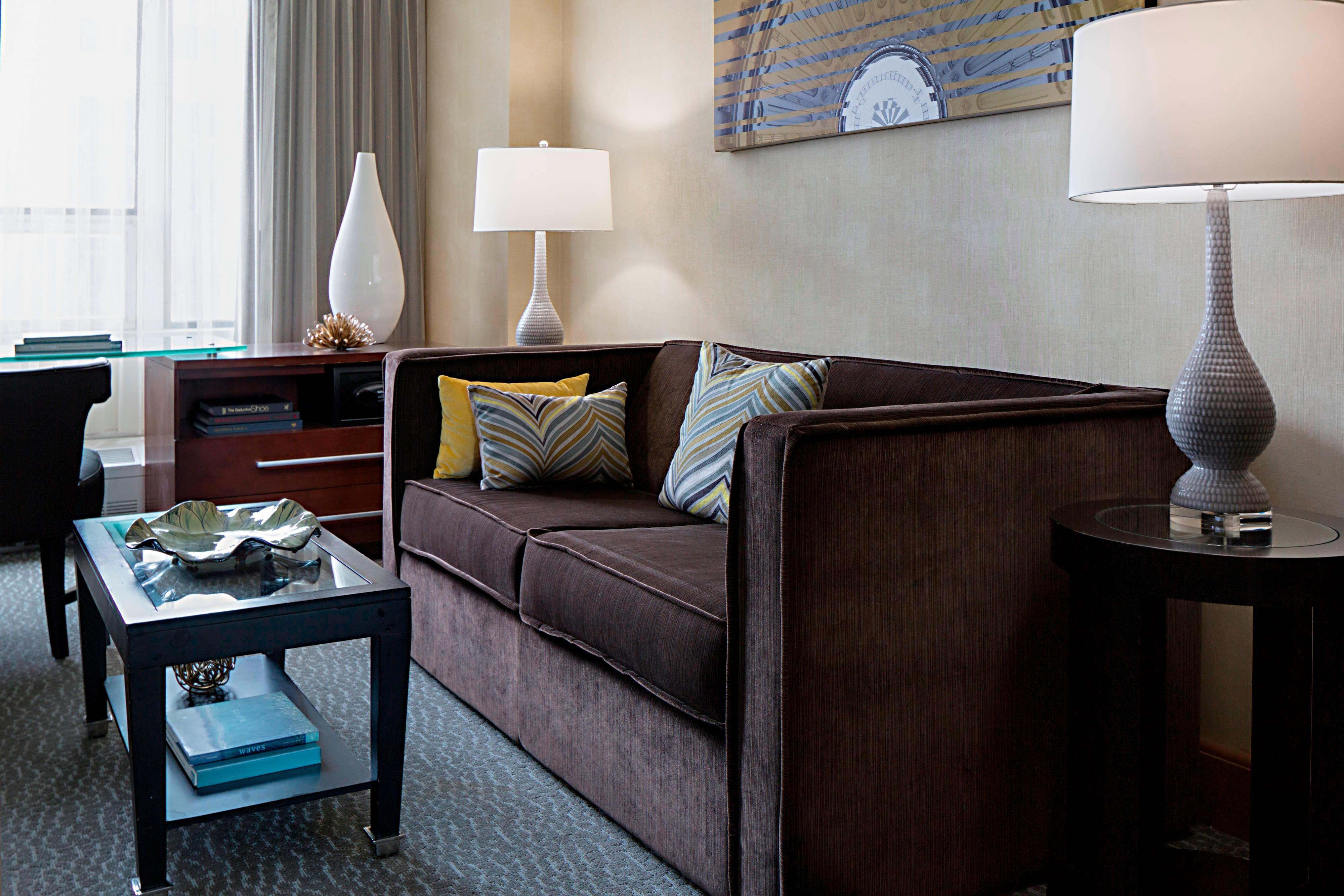 Nivel del servicio de conserjería - Suite con sofá cama