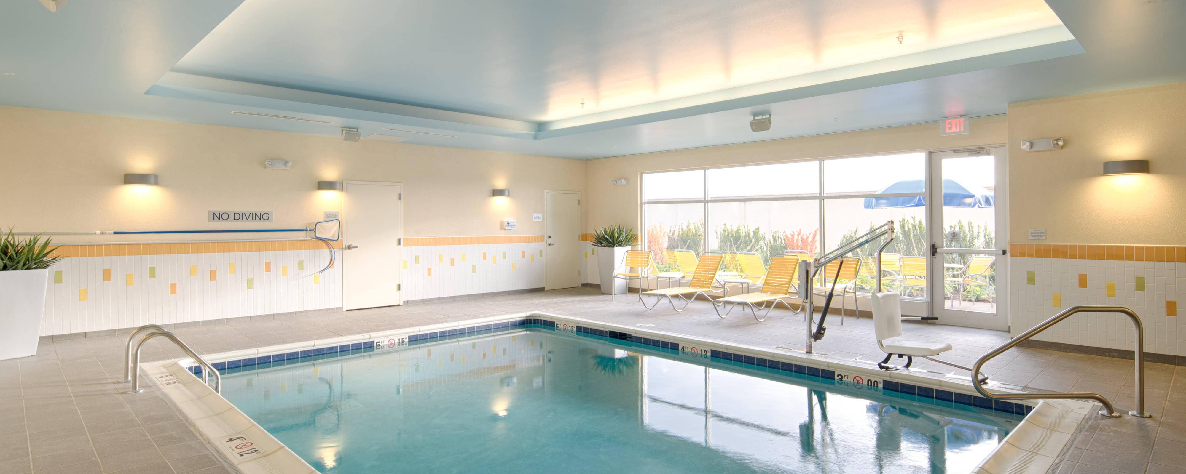 Dublin Ohio Hotel Gym With Indoor Pool Fairfield Inn Suites Columbus Dublin