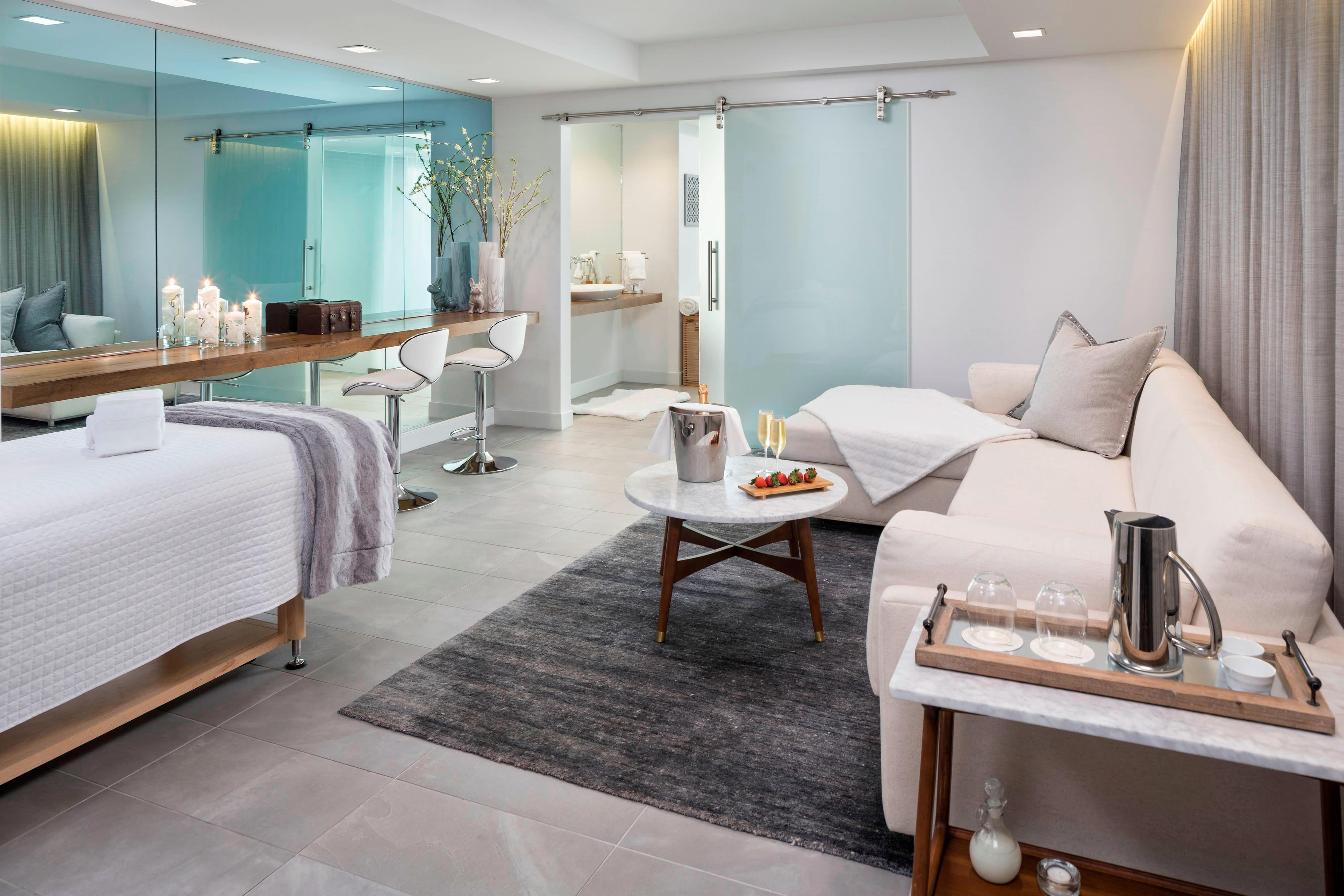 Spa Suite Treatment and Relaxation Room