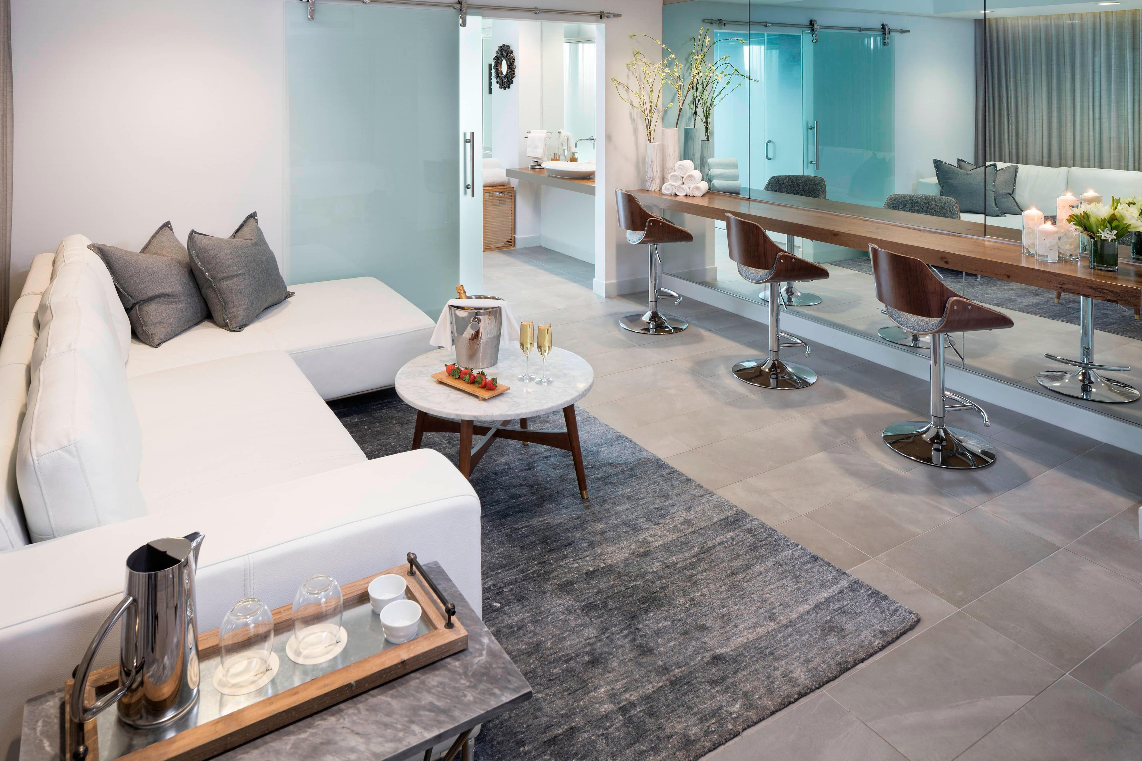 Spa Suite Relaxation Space