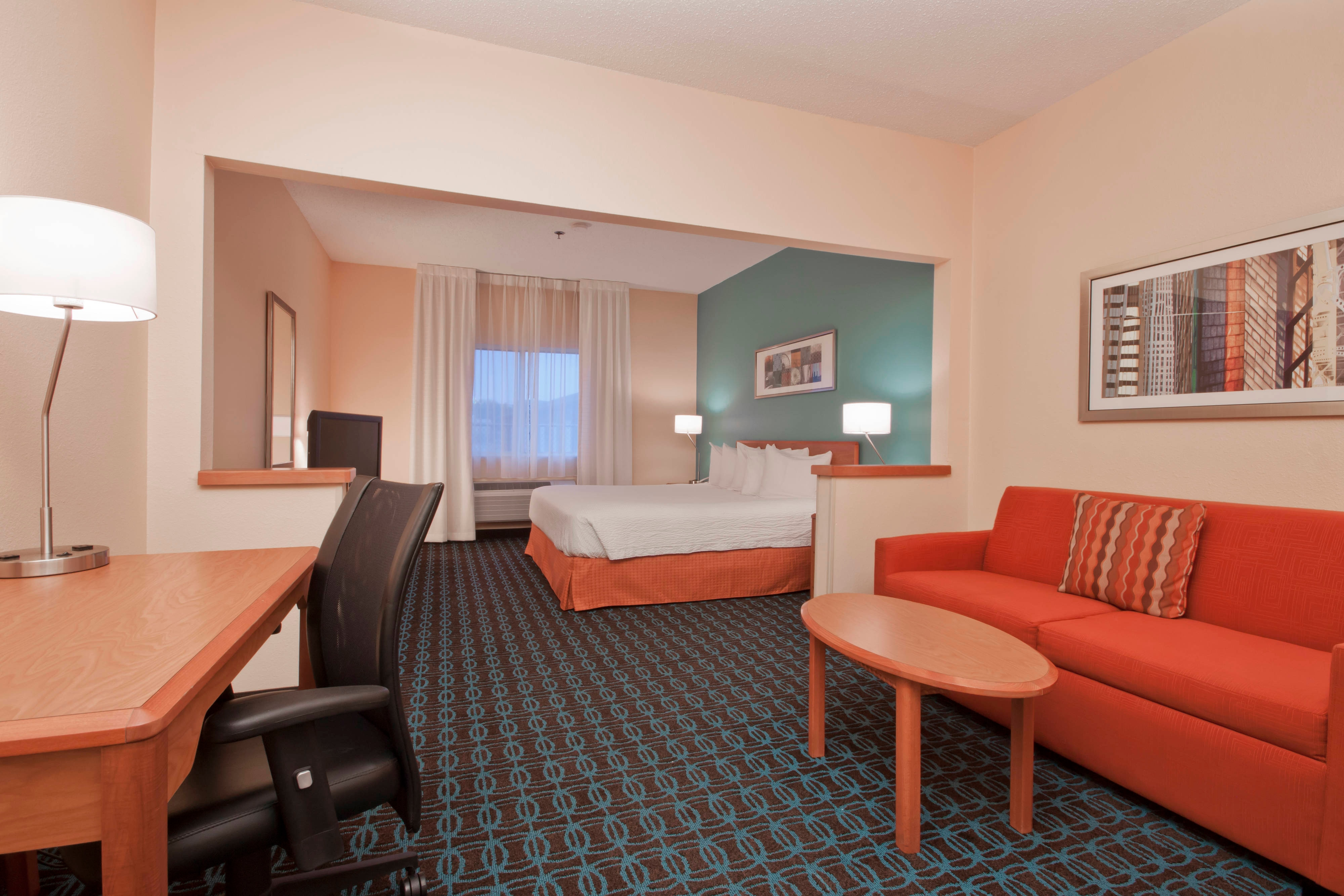 Executive King Guest Room – Living Area