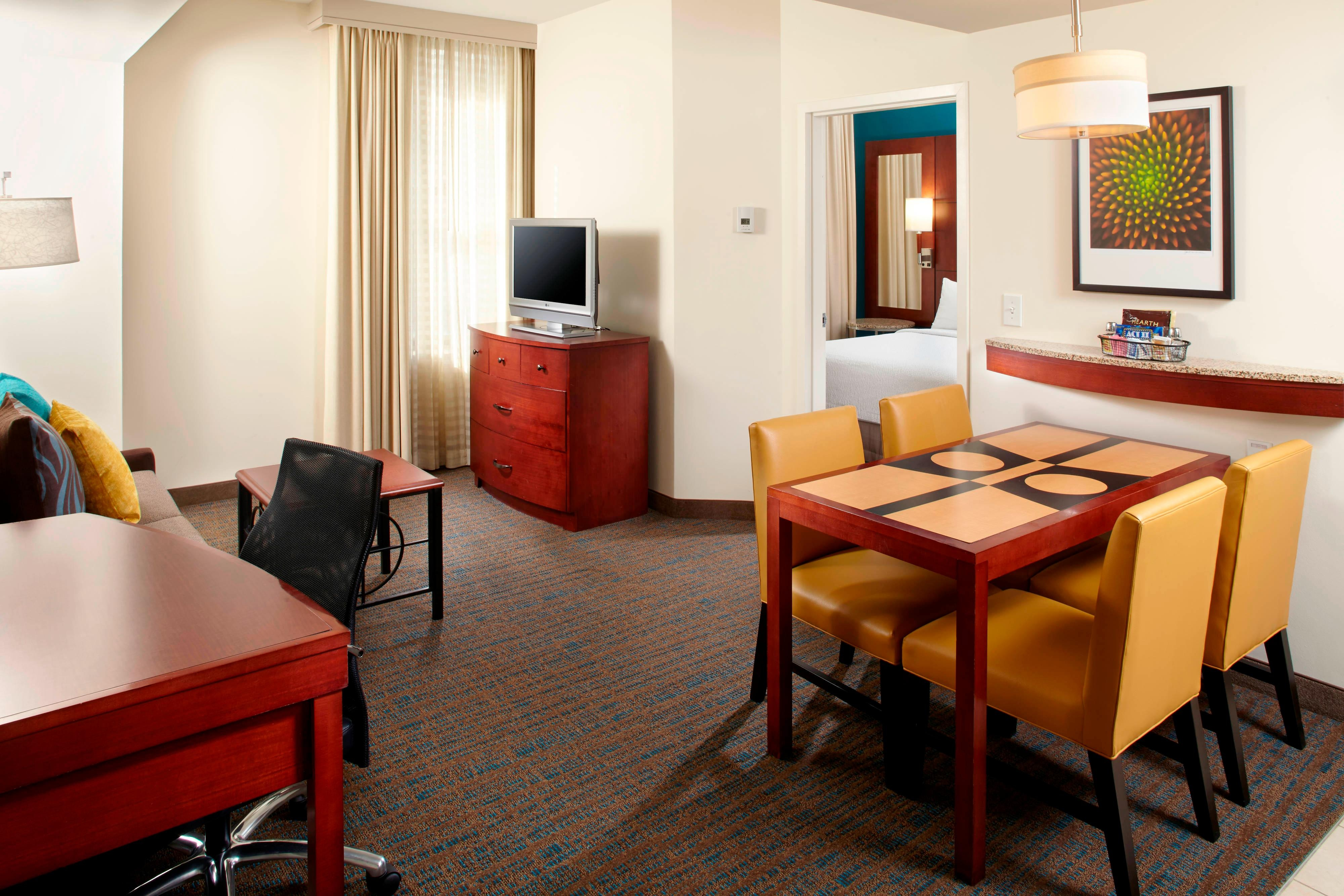 Downtown Columbus All Suite Hotel Residence Inn By Marriott Columbus Downtown