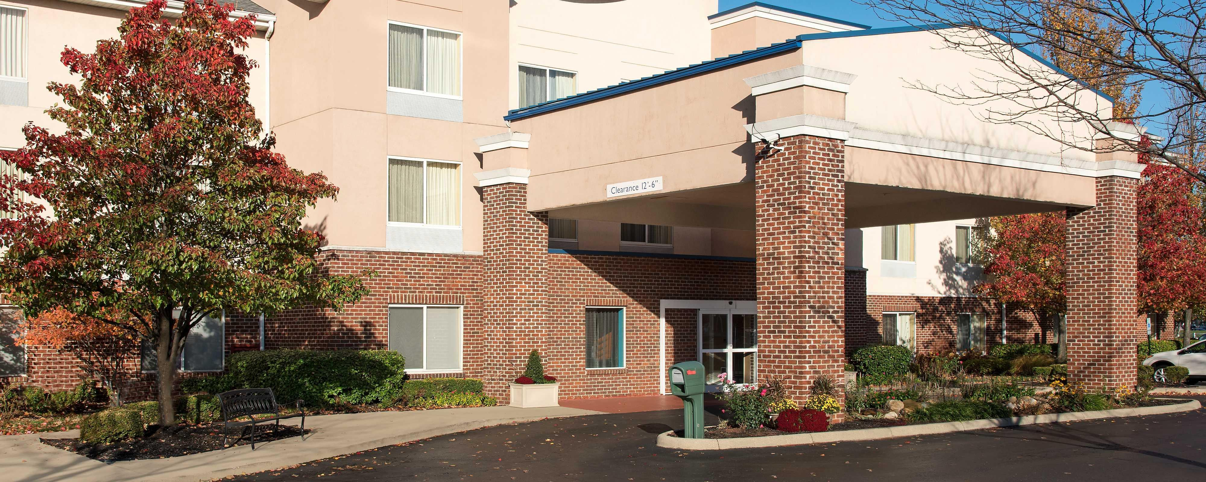 Extérieur du Fairfield Inn & Suites Columbus East