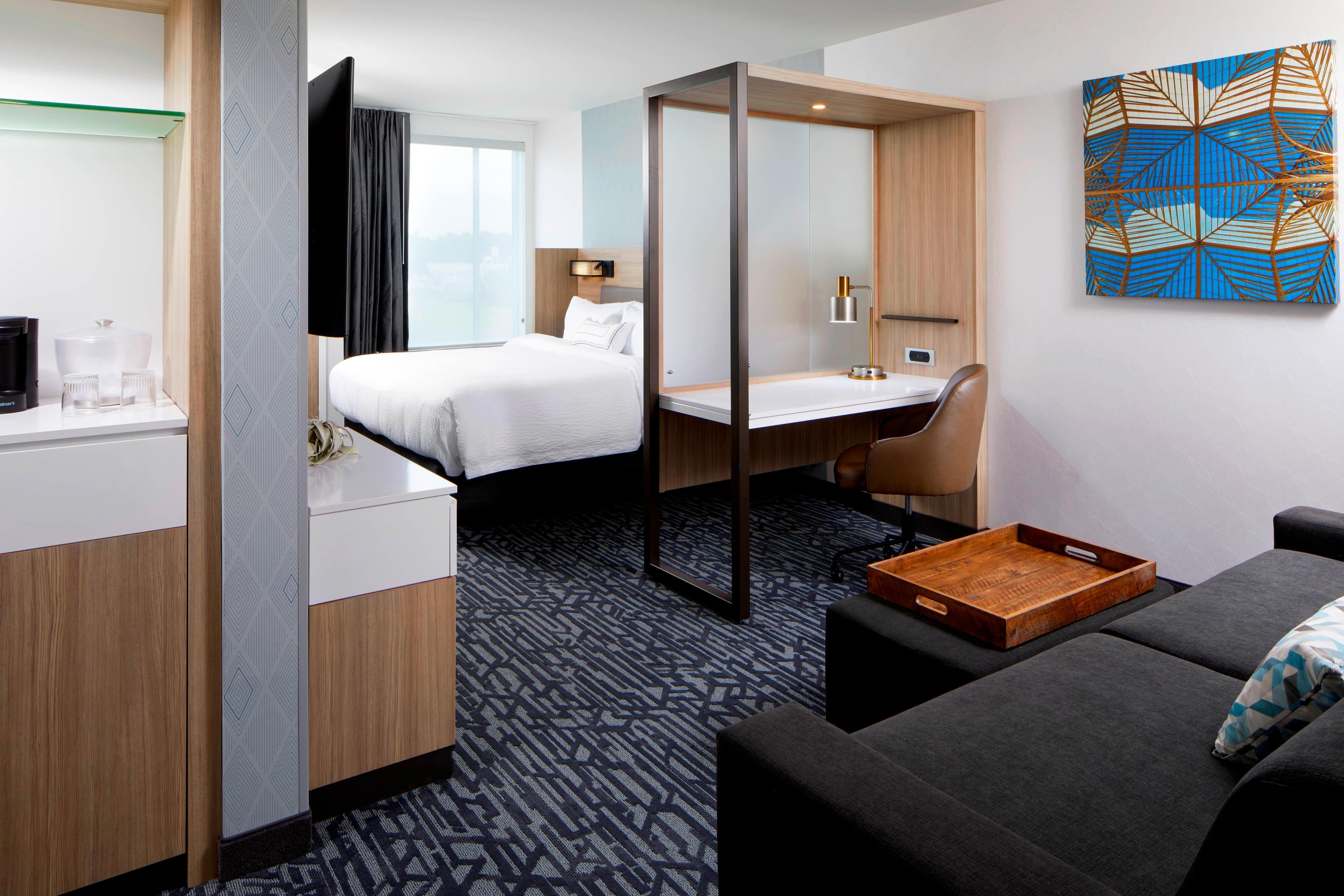Suite con cama tamaño King