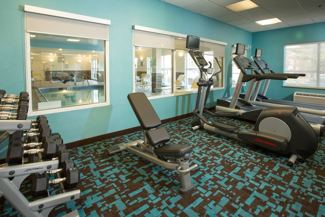 Fairfield Inn & Suites Columbus OSU Fitness Center