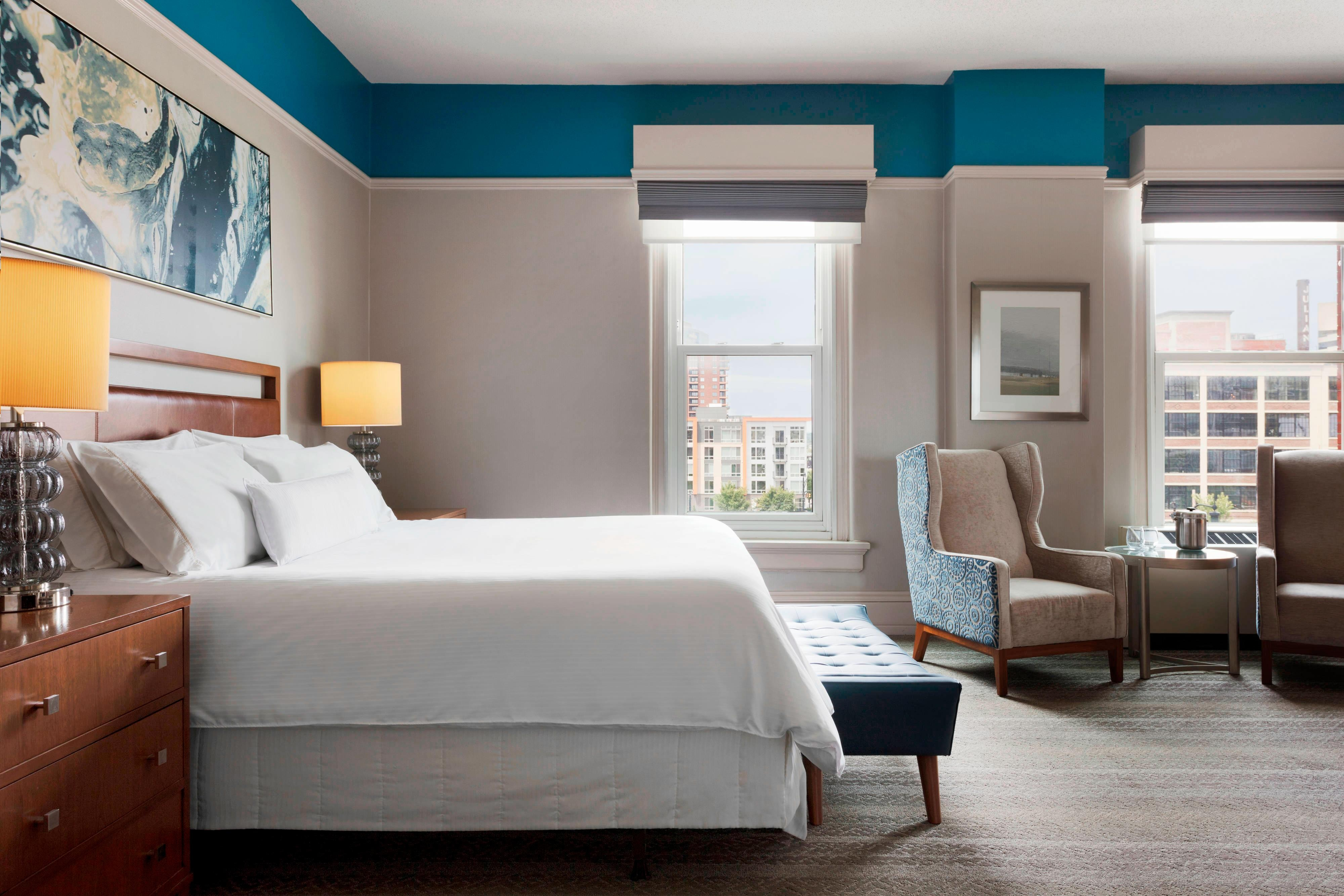 Brewery District Hotel Rooms Columbus Ohio The Westin