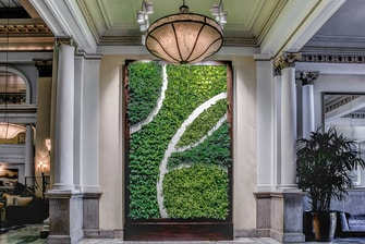 The Westin Columbus Living Wall