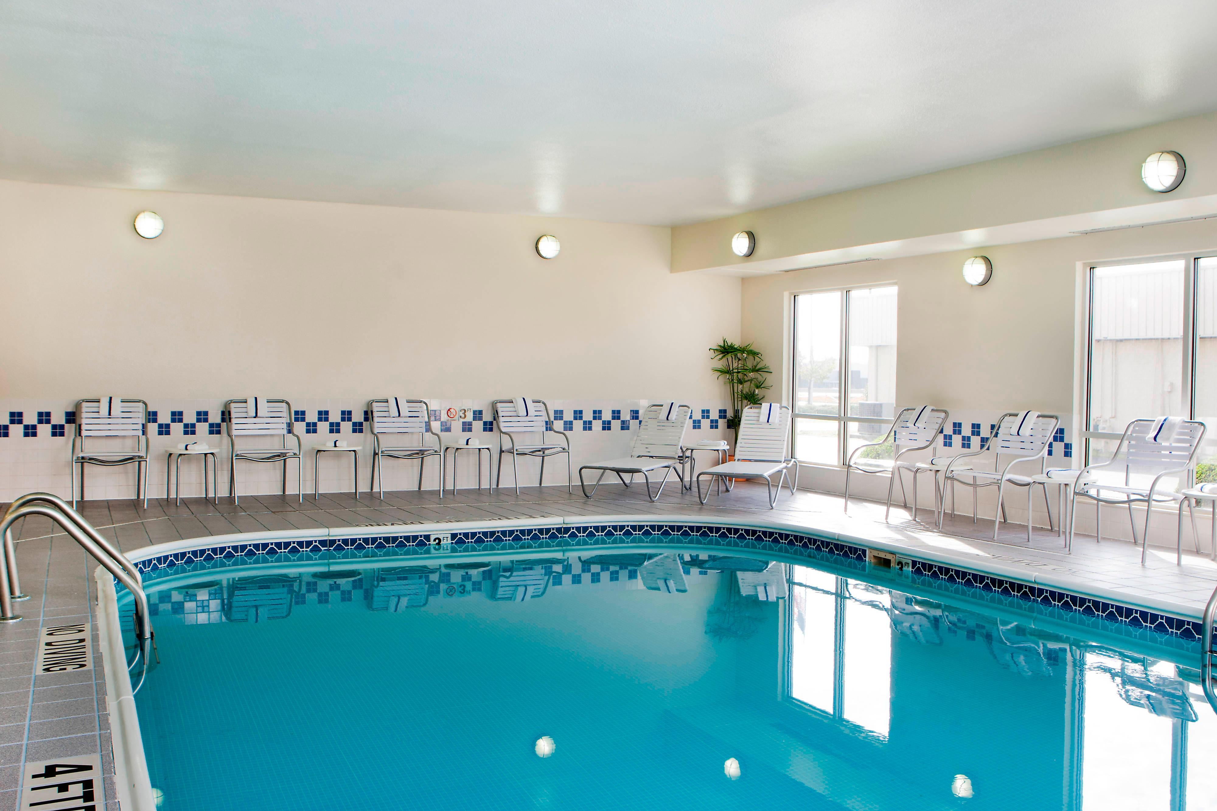 champaign hotel with indoor pool