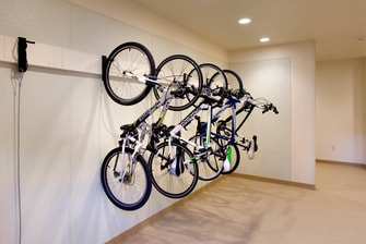Bike Storage at Moab Hotel