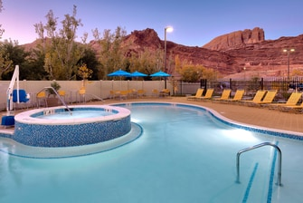Moab Hotel with Spa