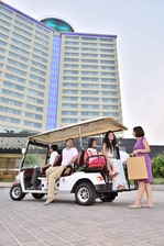 Buggy service to Lulu Mall
