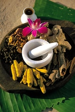 Herbal Preparations for Ayurveda Spa Treatments
