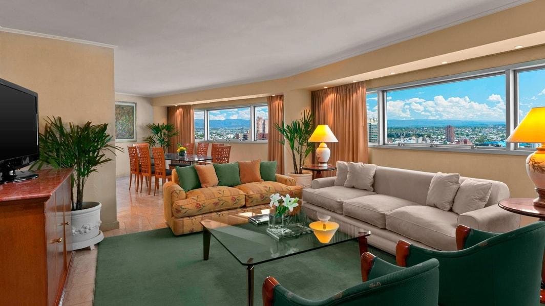 Suite Presidencial, sala de estar