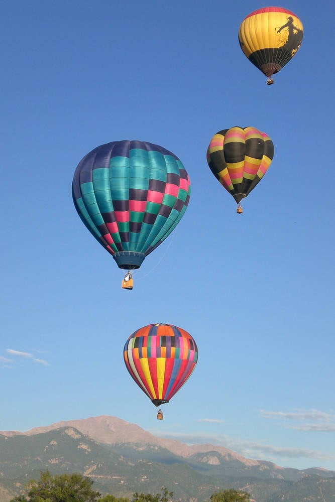 Balloons Over Pikes Peak
