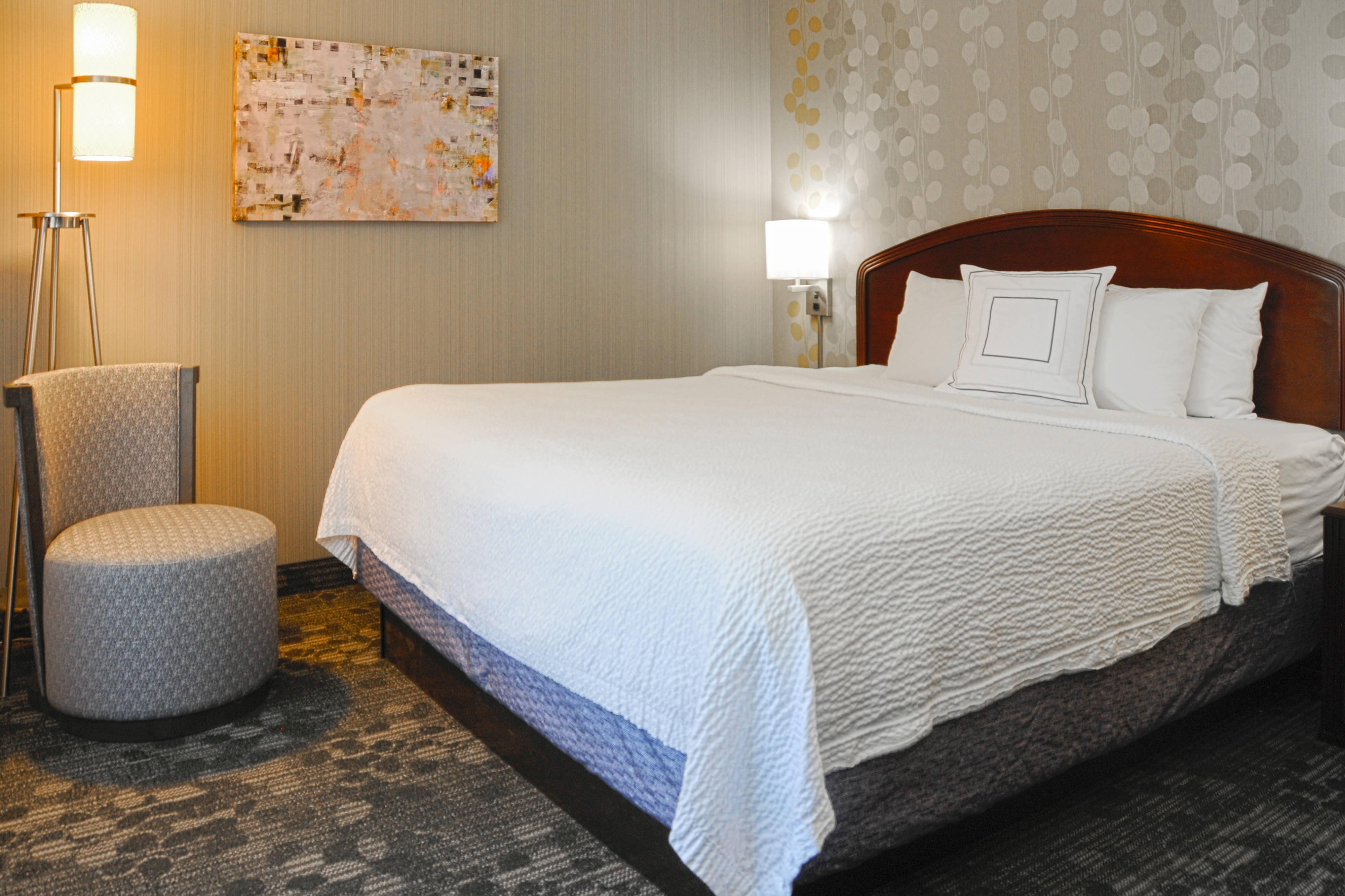 Suite mit einem Schlafzimmer und Kingsize-Bett