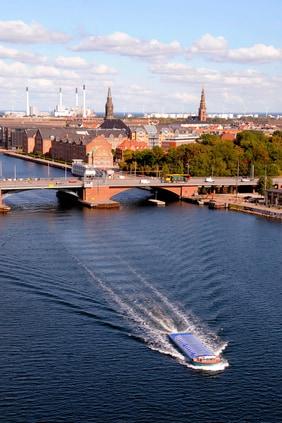 Copenhagen Waters near Marriott Hotel