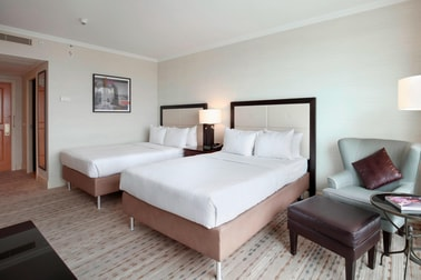 Double/Double Guest Room, City View