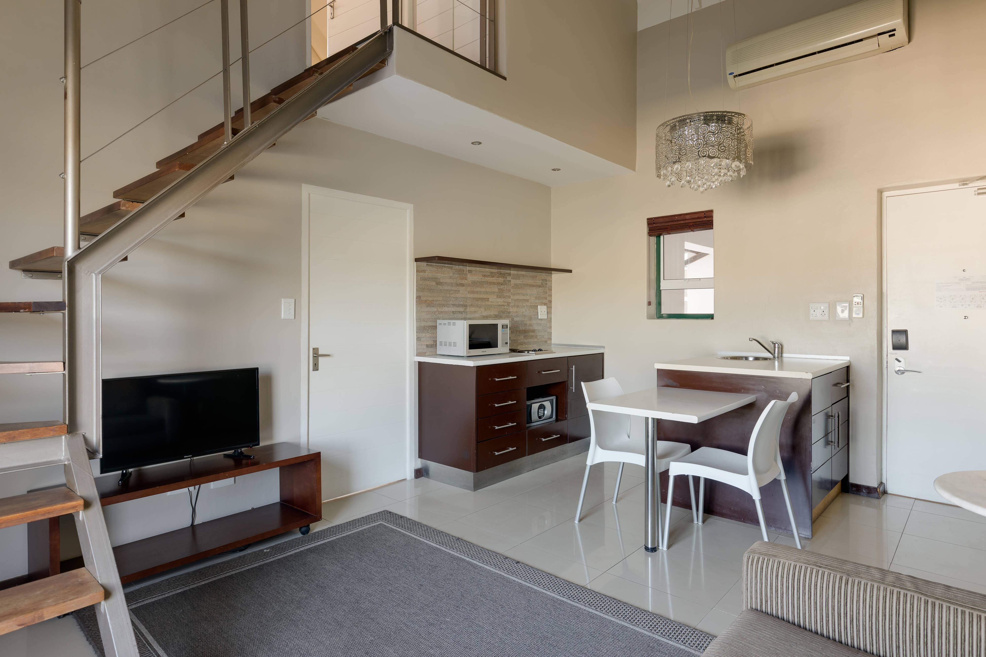 Loft auf zwei Etagen mit zwei Schlafzimmern